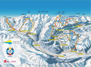 Karte Snowsafari